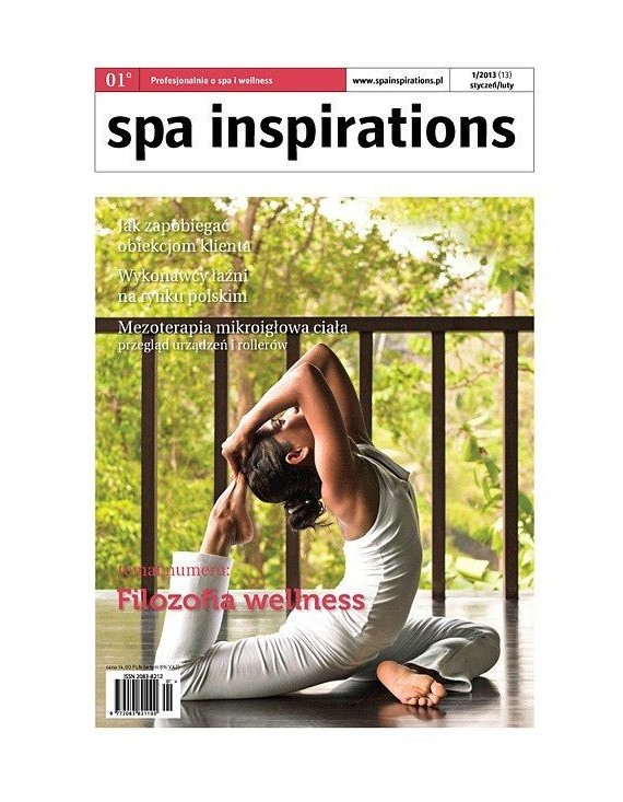 Spa Inspirations 1 2013 ewydanie